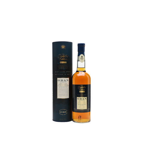 Oban Double Matured Whisky - Pink Dot