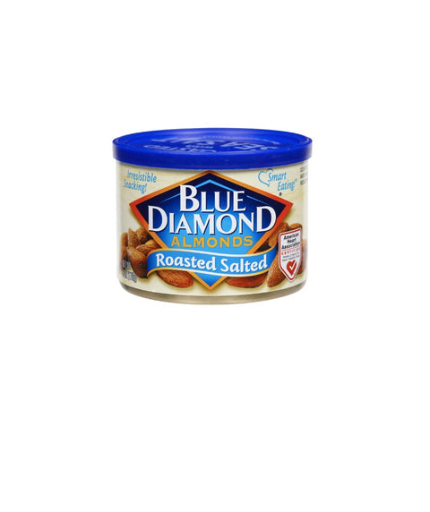 Blue Diamond Almonds - Roasted Salted - Pink Dot