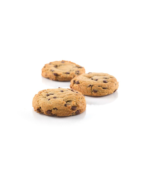 Zooies - Vegan Chocolate Chip Cookie - Pink Dot