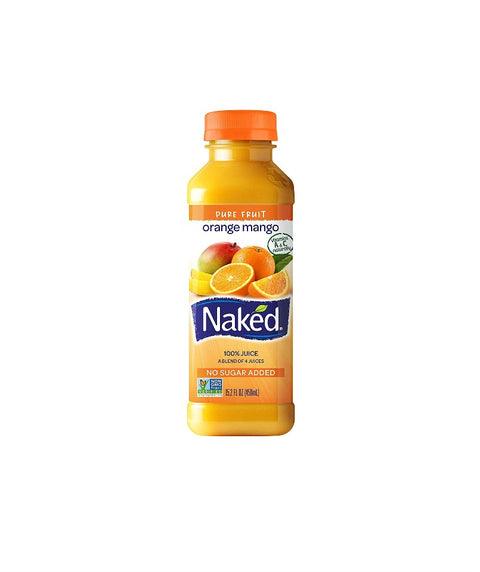 Naked Juice - Orange Mango - Pink Dot