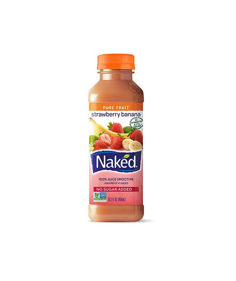 Naked Juice - Strawberry Banana - Pink Dot