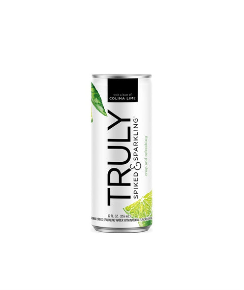 Truly Spiked & Sparkling - Colima Lime - Pink Dot