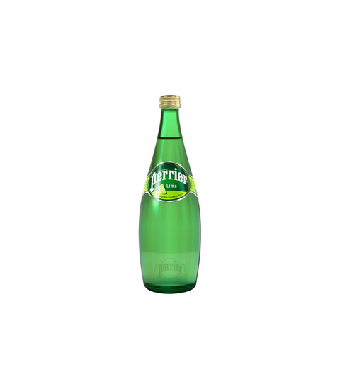 Perrier Lime - Pink Dot