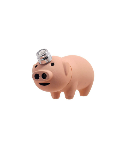 Pig Lighter - Pink Dot