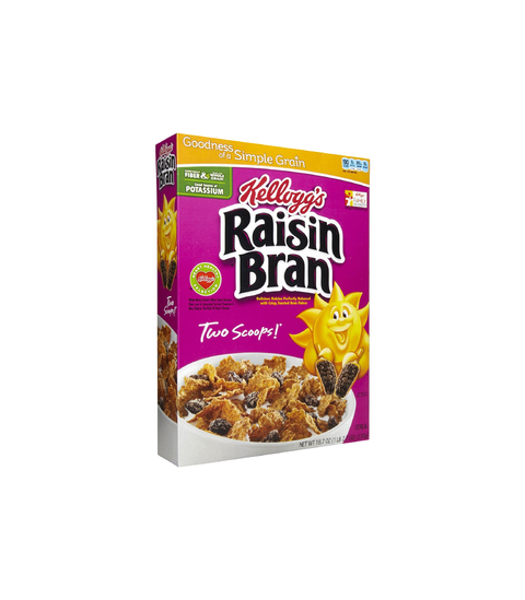 Raisin Bran - Pink Dot