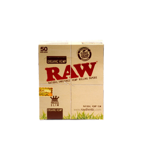 Raw Hemp Rolling Papers - Pink Dot
