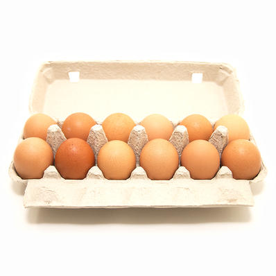 Organic Farm Fresh Eggs - Pink Dot