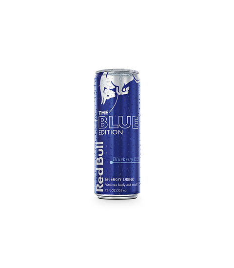 Red Bull Blue Edition - Blueberry - Pink Dot