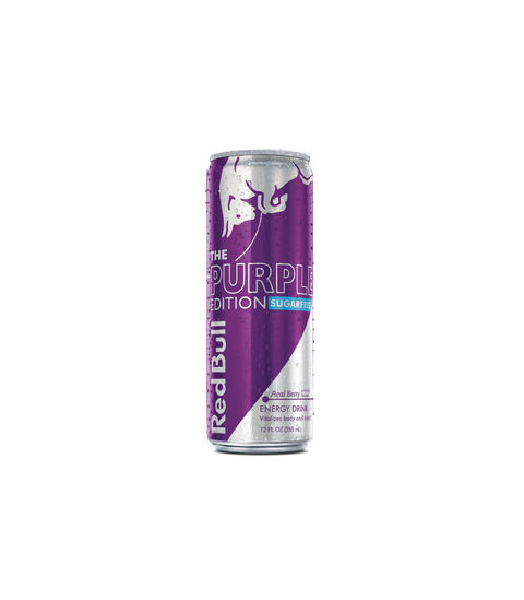 Red Bull Purple Edition - Acai Berry Sugarfree - Pink Dot