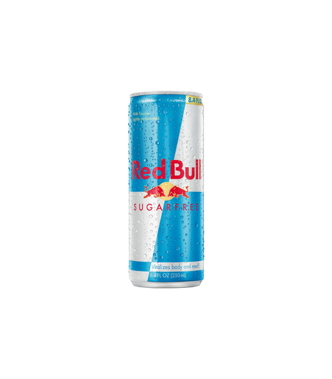 Red Bull Sugar Free - Pink Dot