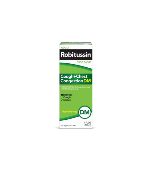 Robitussin Cough + Chest Congestion - Pink Dot