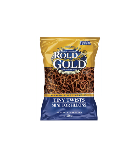 Rold Gold - Tiny Twists Pretzels - Pink Dot