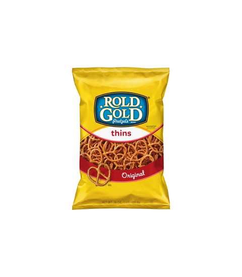 Rold Gold - Thins Pretzels - Pink Dot