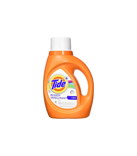 Tide Plus Bleach Detergent - Pink Dot