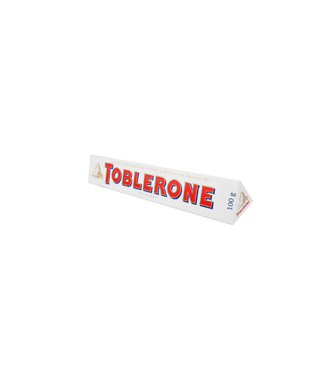 Toblerone White Chocolate - Pink Dot