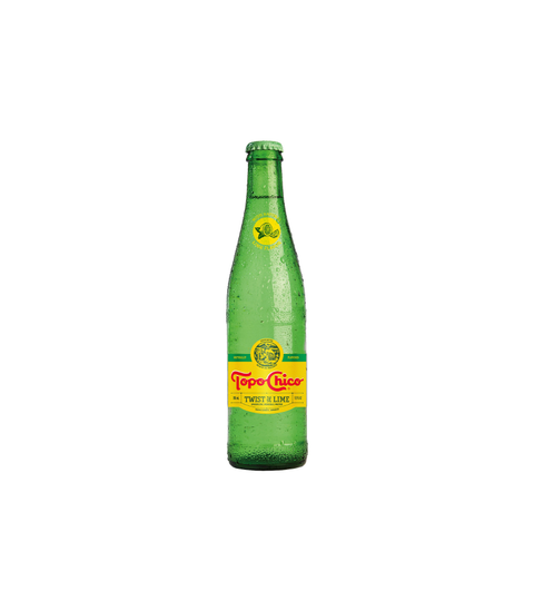 Topo Chico - Lime - Pink Dot