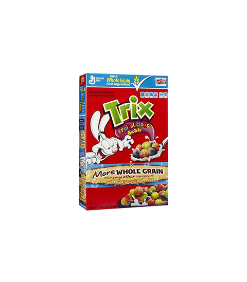Trix Cereal - Pink Dot