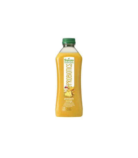 Tropicana Essential Probiotics - Pineapple Mango - Pink Dot