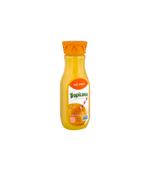 Tropicana Orange Juice - No Pulp - Pink Dot