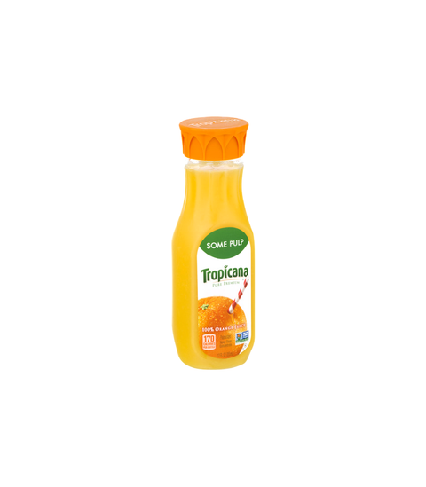 Tropicana Orange Juice - Some Pulp - Pink Dot