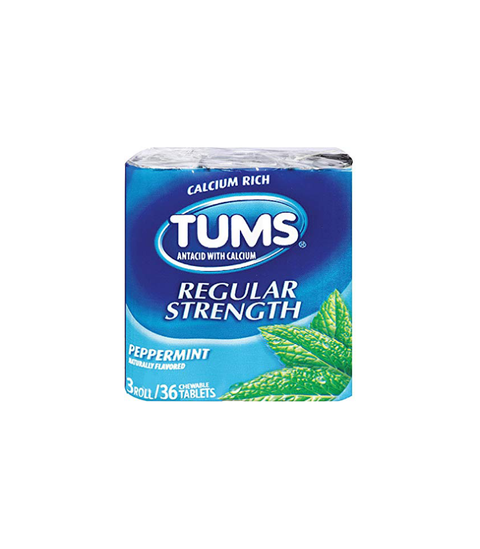 Tums Peppermint - Pink Dot