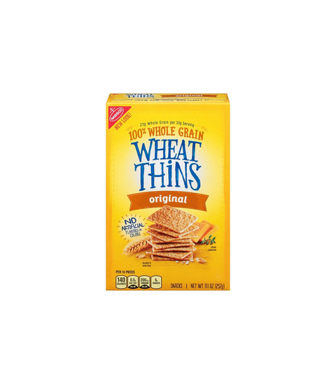 Wheat Thins Crackers - Pink Dot