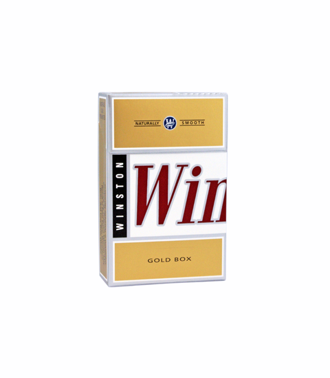 Winston Gold Cigarettes - Pink Dot