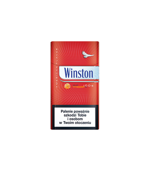 Winston Red 100's Cigarettes - Pink Dot
