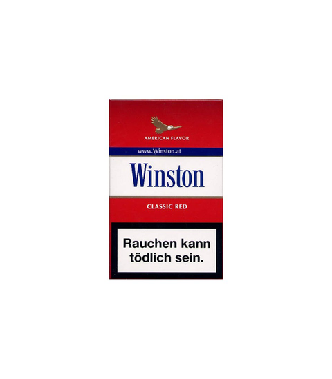 Winston Red Cigarettes - Pink Dot