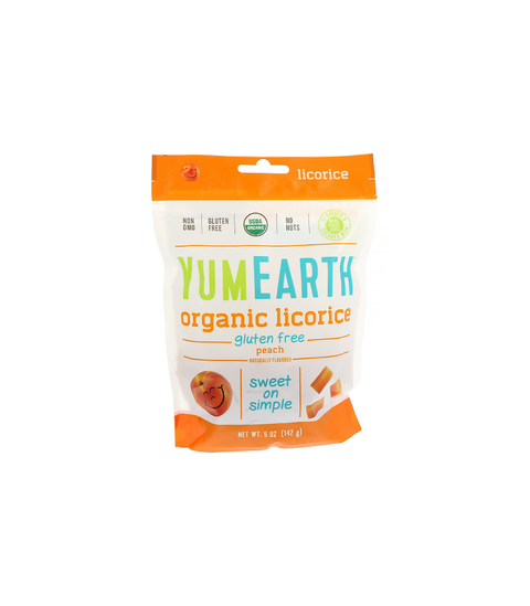 Yum Earth Organic Licorice - Pink Dot