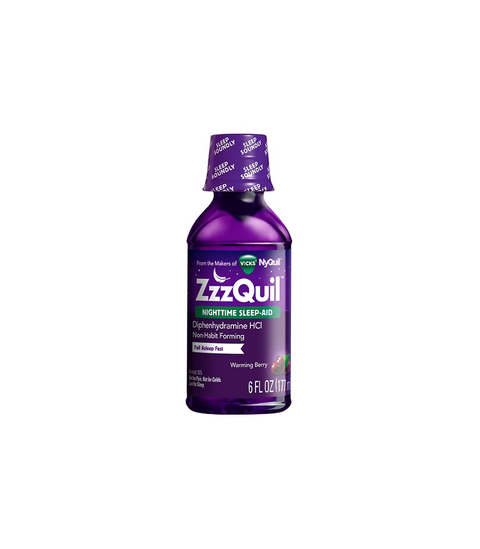 ZZZQUIL™ Warming Berry Liquid - Pink Dot