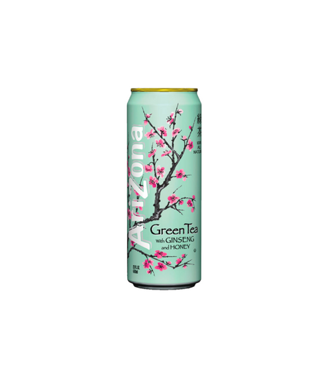 Arizona Iced Tea - Green Tea w/ Ginseng & Honey - Pink Dot