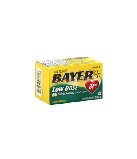 Bayer Aspirin - Pink Dot