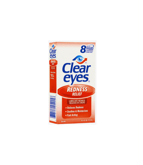 Clear Eyes - Pink Dot