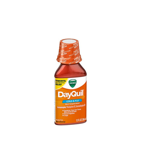 Dayquil 8 Oz Liquid - Pink Dot