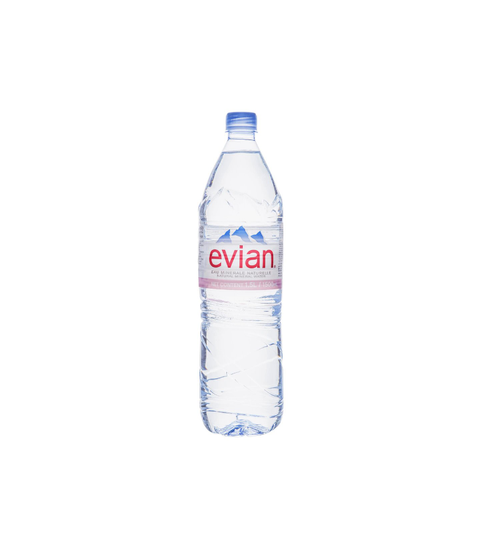 Evian Water - Pink Dot