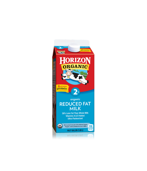Horizon Organic 2% Milk - Pink Dot