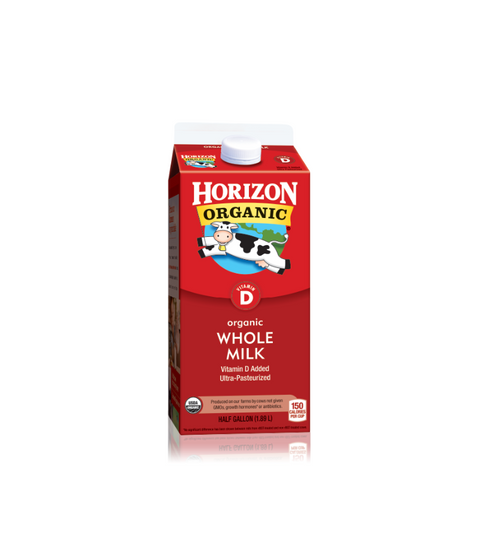 Horizon Organic Whole Milk - Pink Dot