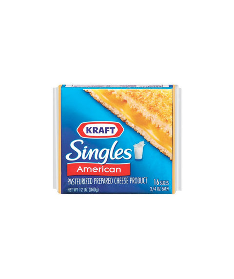 Kraft American Cheese Slices - Pink Dot