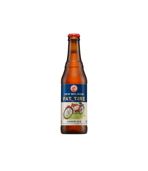 New Belgium Fat Tire - Pink Dot