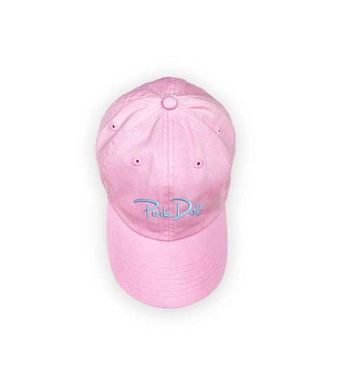 Pink Dot Dad Hat - Pink Dot