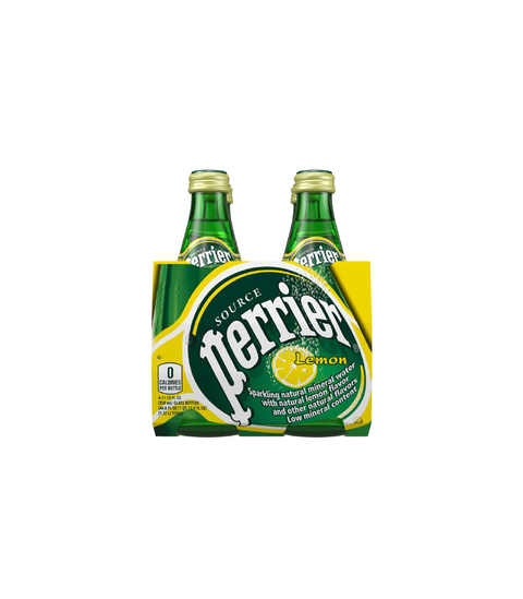 Perrier Lemon - Pink Dot