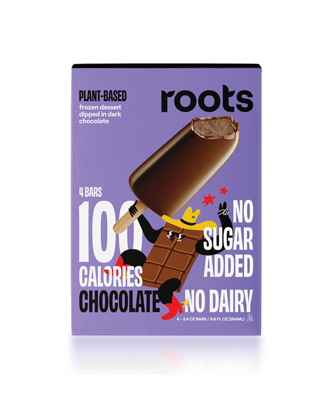 Roots - Plant Based Frozen - Chocolate