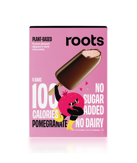 Roots - Plant Based Frozen - Pomegranate