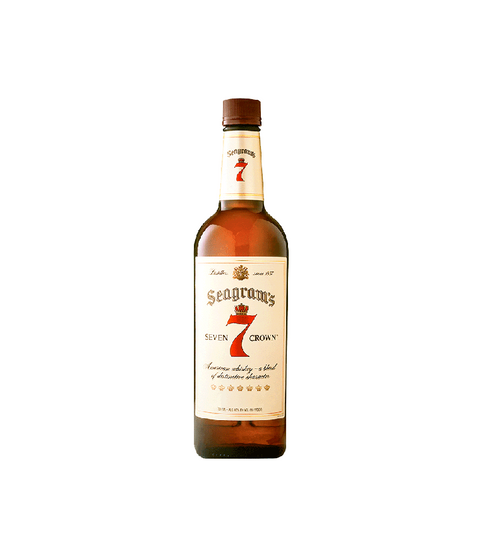Seagram's 7 Whiskey - Pink Dot