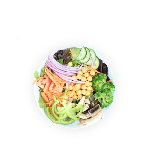 Super Garden Salad - Pink Dot