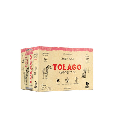 Tolago Hard Seltzer - Cherry Rose