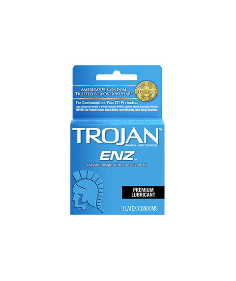 Trojan Lubricated 3pk - Pink Dot