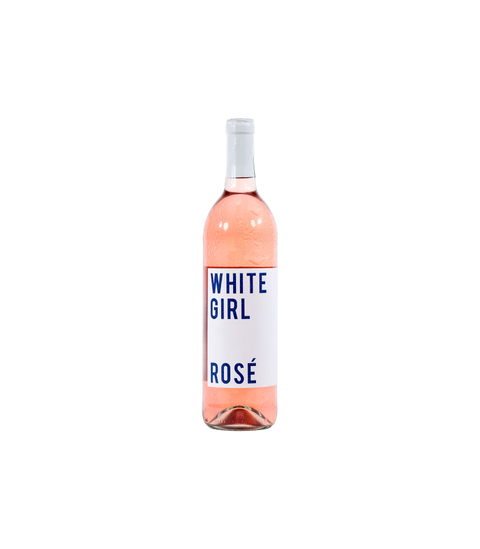White Girl Rose - Pink Dot