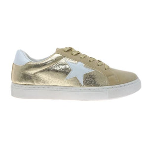 Gold Star Tennis Shoes-K. Ellis Boutique